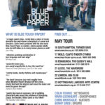 Blue Touch Paper Tour in Großbritannien