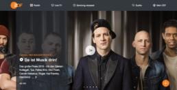 Startbild der ZDF Mediathek: Neo Magazin Royale - Dendemann und Die Freie Radikale: Eine deutsche Rapgeschichte Part II
