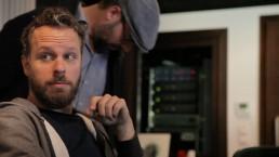 Tobias Backhaus, Matti Klein at Jazzanova Recording Studio