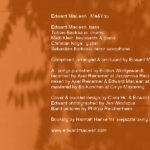 Edward Macleans neue CD 'Me&You' – wer war dabei?